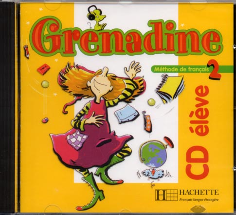 Grenadine - niveau 2 - CD audio �l�ve