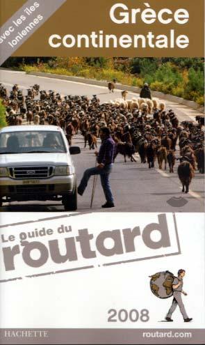 Hachette, Guide du Routard Grèce continentale 2008
