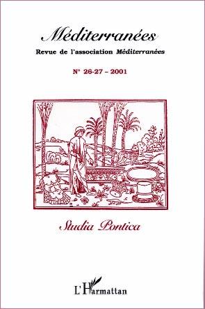 L'Harmattan, Méditerranées n° 26-27 - Studia Pontica