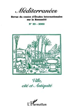 Méditerranées n° 33 - Ville, Cité et Antiquité