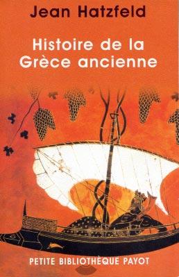 Hatzfeld, Histoire de la Grèce ancienne