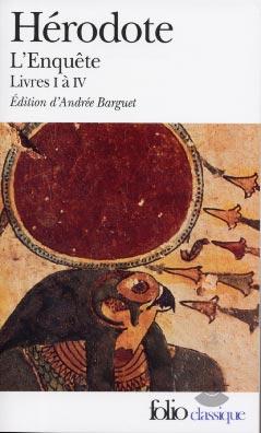 Hérodote, L'enquête, livres I à IV