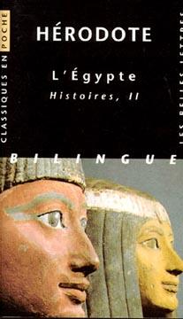 Hérodote, L'Egypte Histoires II (poche)