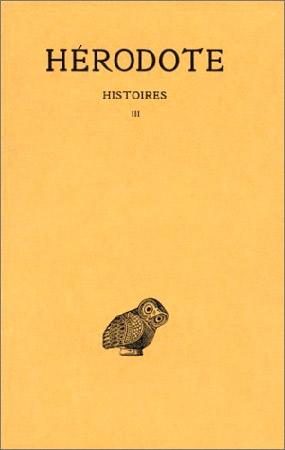 Histoires Tome III : Livre III : Thalie
