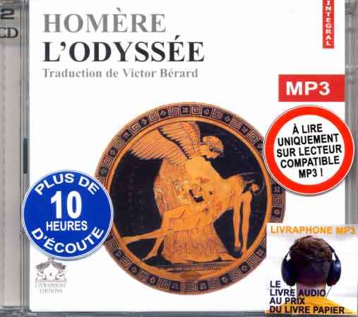 L'Odyssιe. 2CD Audio MP3