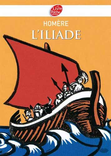 Homère, L'Iliade (poche)