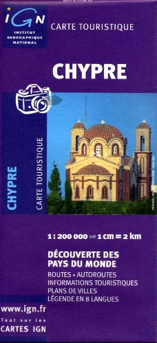 Chypre carte IGN 86115