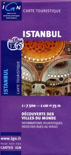 Istanbul map IGN 86317