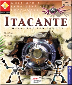 Intelearn, Itacante O planitis ton robots