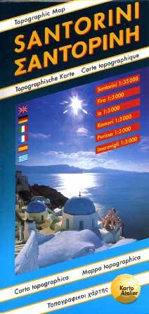Santorini Karte