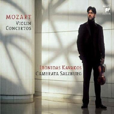 Kavakos, Mozart violin concertos