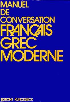 Manuel de conversation français-grec moderne