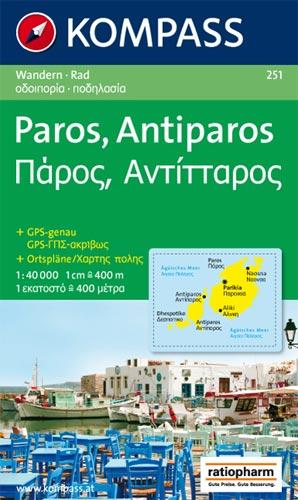 Paros - Antiparos WK251