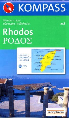Kompass, Rhodes Rhodos WK248