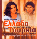 Ellada - Tourkia sto idio trapezi