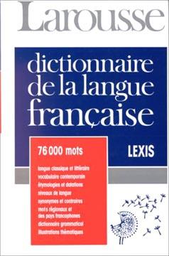 Dictionnaire de la langue française Lexis