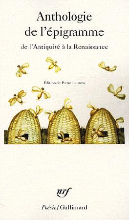 Laurens, Anthologie de l'épigramme. De l'Antiquité à la Renaissance