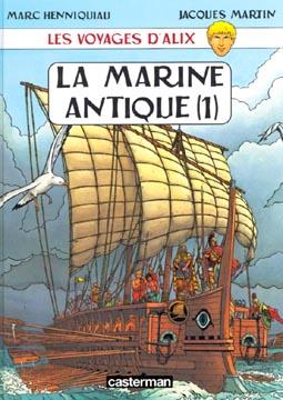 Les voyages d'Alix : La marine antique (1)
