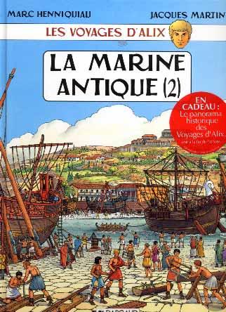 Martin, Les voyages d'Alix : La marine antique (2)