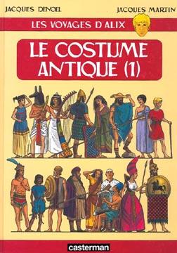 Les voyages d'Alix : Le costume antique (1)