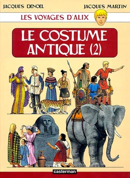 Les voyages d'Alix : Le costume antique (2)