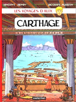 Martin, Les voyages d'Alix : Carthage