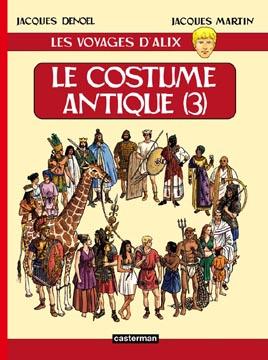 Les voyages d'Alix : Le costume antique (3)