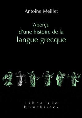 Aperçu d'une histoire de la langue grecque