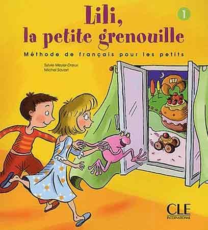 Lili, la petite grenouille 1 - Livre de contes