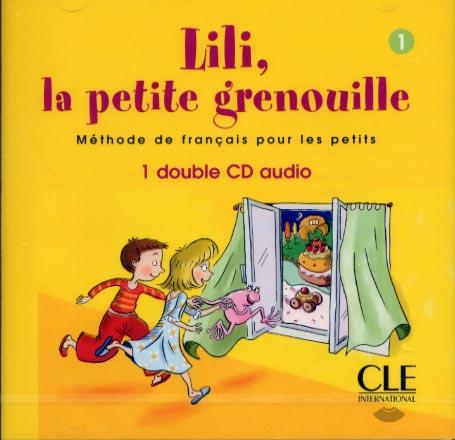 Lili, la petite grenouille 1 - 2CD audio