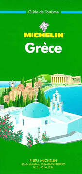Michelin, Grèce. Guides verts