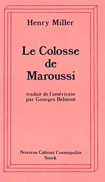 Miller, Le Colosse de Maroussi