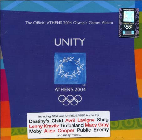 Collection, Unity - The Official ATHENS 2004 Olympic Games