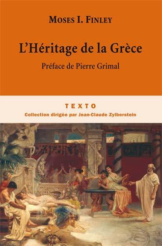 Finley, L'Héritage de la Grèce