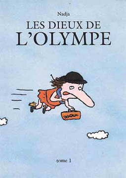 Nadja, Les dieux de l'Olympe tome 1