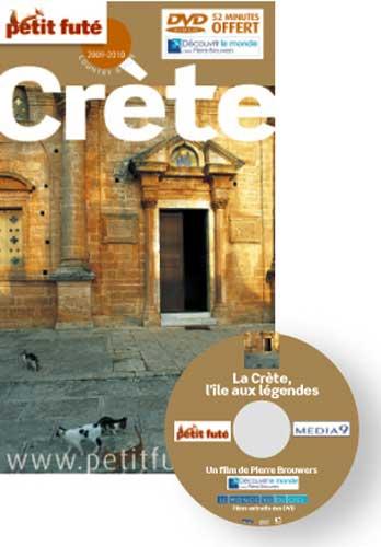 Le Petit Futé Crète 2009-2010 + dvd