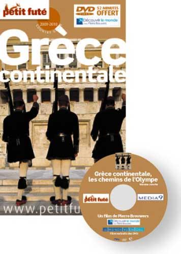 Le Petit Futé Grèce continentale 2009-2010 + dvd