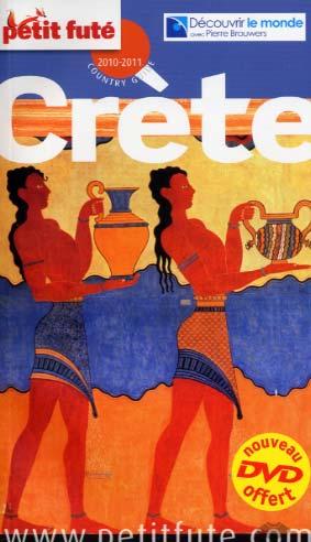 Le Petit Futé Crète 2010-2011 + dvd