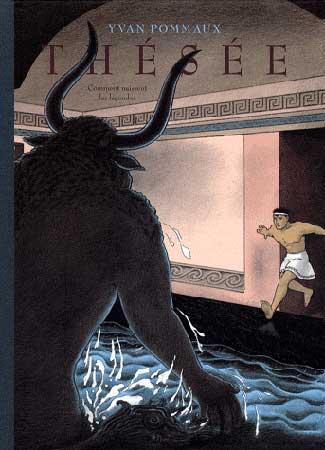 Pommaux, Thésée, comment naissent les légendes