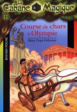 La cabane magique T11 : Course de chars à Olympie