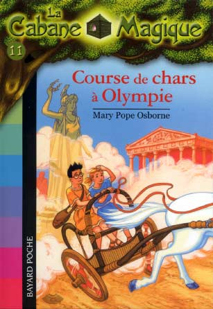 Pope, La Cabane Magique T11 : Course de chars � Olympie