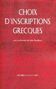 Choix d'inscriptions grecques