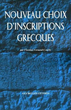 Pouilloux, Nouveau choix d'inscriptions grecques