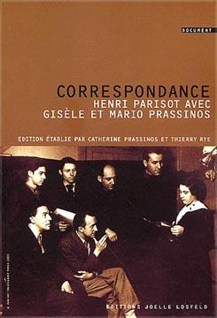 Prassinos, Correspondance d'Henri Parisot avec Mario et Gisèle Prassinos