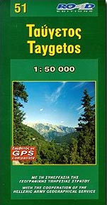 Taygetos map 51