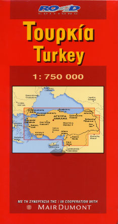 Road, Turkey - map