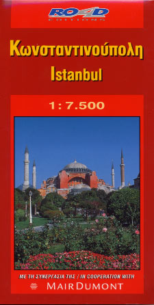 Istanbul - map