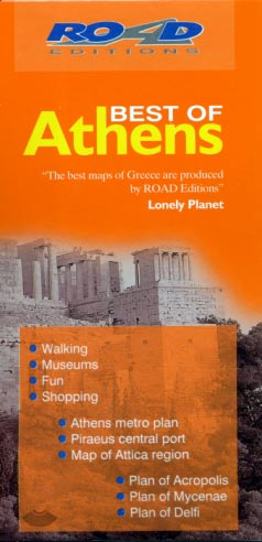 Best of Athens (pocket map)