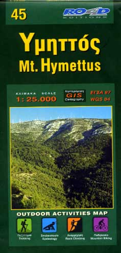 Mt. Hymettus map 45