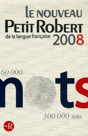 Le nouveau Petit Robert de la langue française